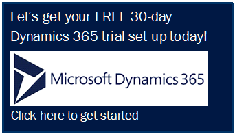 Free 30 day trial Dynamics 365